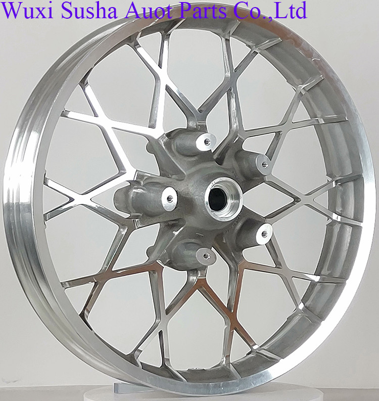 Custom Bike Raw Front wheel 21 inch Wheel Harley Street Glide